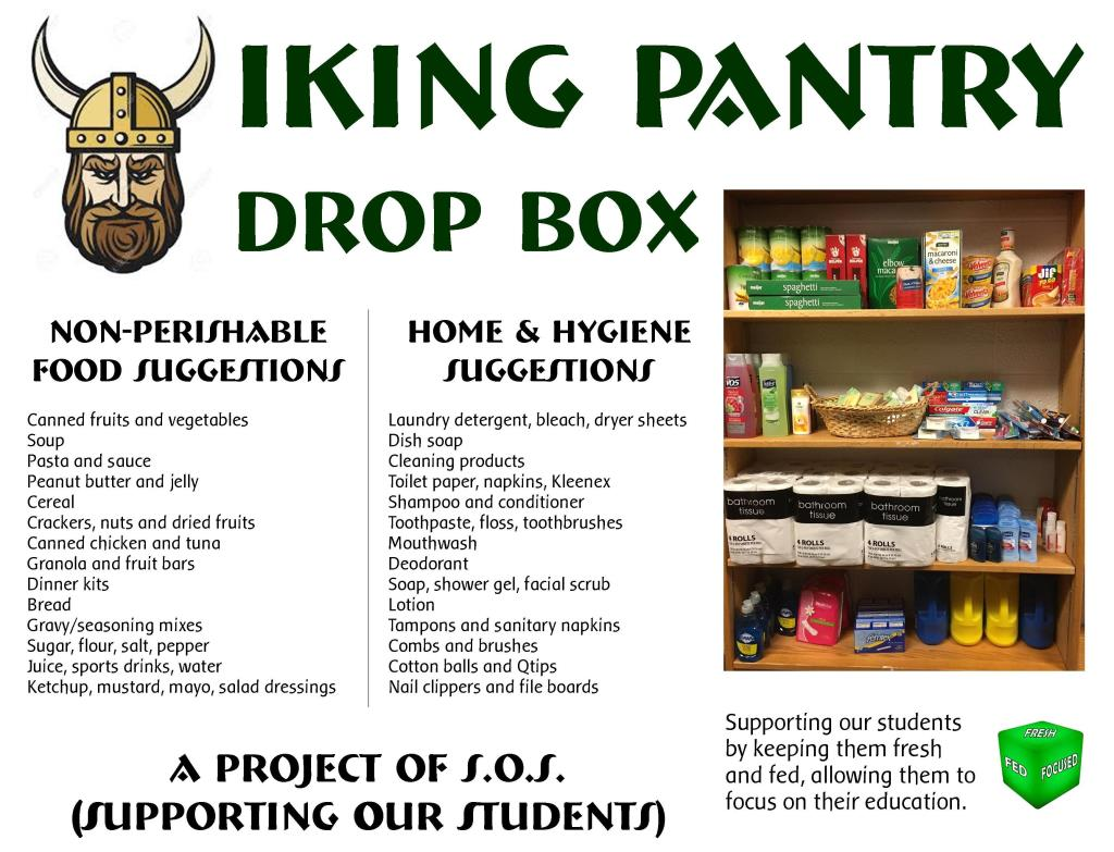 Viking Pantry Drop Box Suggestions