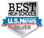 U.S. News & World Report Best High Schools Silver Ranking - 50%